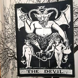 The Devil Wall Tapestry